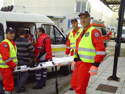 Η ΔΕΟΦ στην εκκένωση του νοσοκομείου