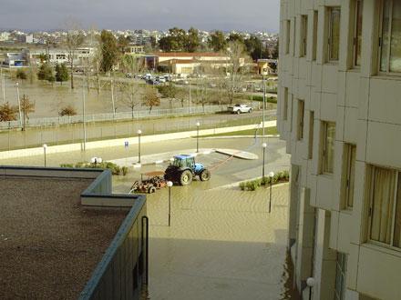 Το πλημμυρισμένο νοσοκομείο